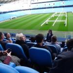 マンチェスター・シティFCのスタジアム見学ツアー @ エティハド・スタジアム