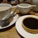 絶品チョコレート・タルト @ カフェ・ルージュ(Cafe Rouge)、ハムステッド、ロンドン
