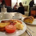 K+K ホテル・ジョージ Hotel George London(ロンドン)宿泊記 2014年朝食