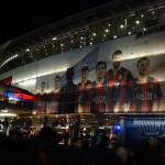 FCバルセロナのカンプ・ノウ・スタジアムへ