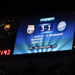 FCバルセロナ × パリ・サンジェルマンFC @ カンプ・ノウ・スタジアム、バルセロナ