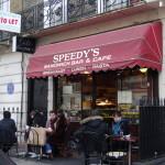 SHERLOCKでお馴染みのカフェ Speedy's で朝食