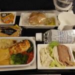 全日空(ロンドン⇒成田)エコノミー搭乗記 2011年機内食#2