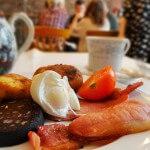 朝食はまたシュガー・ジャンクションで @ Sugar Junction, Manchester, England