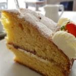 チェルシーの素敵カフェ Megan's(ミーガンズ)の絶品ビクトリア・スポンジケーキ
