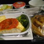 全日空(ヒースロー→羽田)エコノミー搭乗記 2014年機内食#4