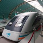 上海・浦東国際空港からはリニアに乗ってみた