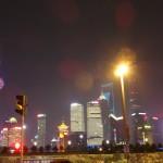 上海料理と上海の夜景で打ち上げー!