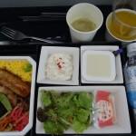 全日空(成田→デュッセルドルフ)エコノミー搭乗記 2015年機内食