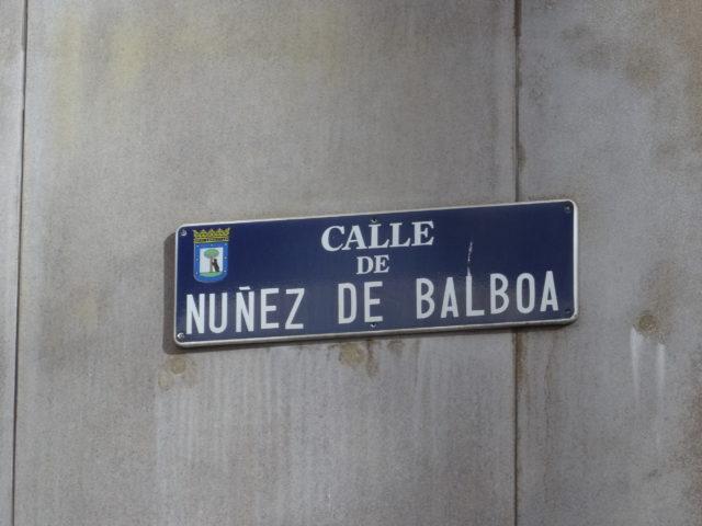 「情熱のシーラ」の工房があった設定ら辺のマドリードのサラマンカ地区をウロウロ