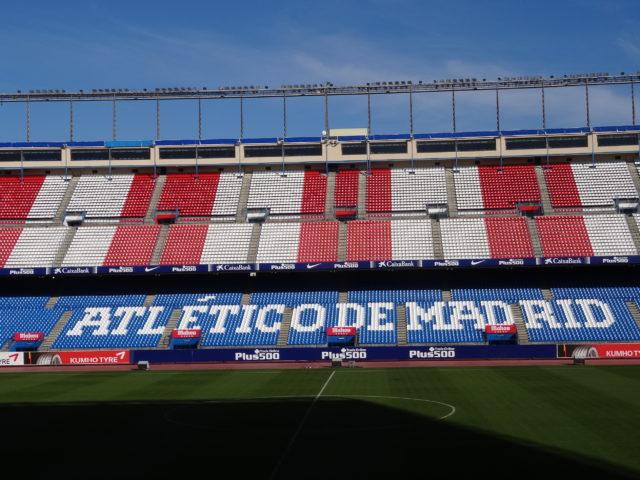 アトレティコ・マドリードのスタジアム、ビセンテ・カルデロン見学ツアー