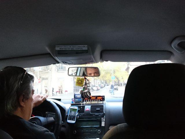 マドリードのタクシー