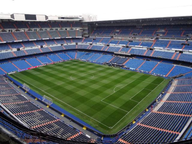 レアル・マドリードのスタジアム見学ツアー @ エスタディオ・サンティアゴ・ベルナベウ