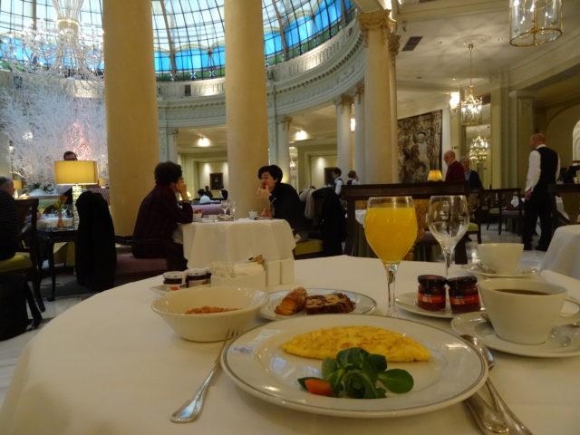 ウエスティン・パレス・マドリード(The Westin Palace Madrid)宿泊記 2015年朝食#2