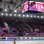 女子ショート&ペア表彰式 12/11 @ GPFバルセロナ2015