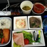 全日空(ブリュッセル→成田)エコノミー搭乗記 2015年機内食#1