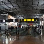 ブリュッセル空港で乗り継ぎ
