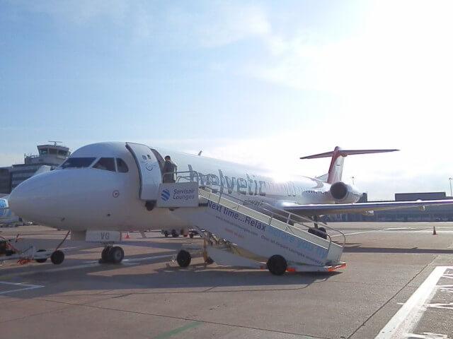 スイス・インターナショナル・エアラインズ(マンチェスター→チューリッヒ)エコノミー搭乗記 2013年